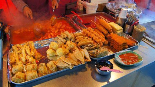 Du lịch Hàn Quốc mùa đông khám phá những món ăn ngon và lạ